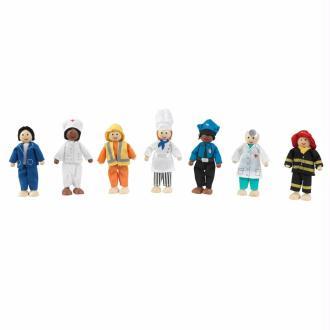KidKraft Ensemble de professions de poupées 7 pcs 63279