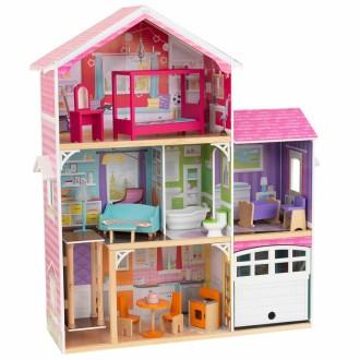 KidKraft Maison de poupée 3 étages Avery 100,5 x 32 x 116,3 cm 65943