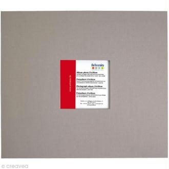 Album pour scrapbooking Gris clair 31 x 35 cm