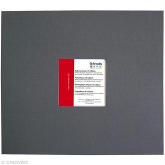Album pour scrapbooking Gris anthracite 31 x 35 cm