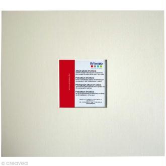 Album pour scrapbooking Ecru 31 x 35 cm