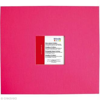 Album pour scrapbooking Fuchsia 31 x 35 cm