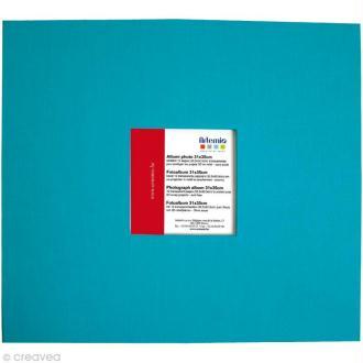 Album pour scrapbooking Turquoise 31 x 35 cm