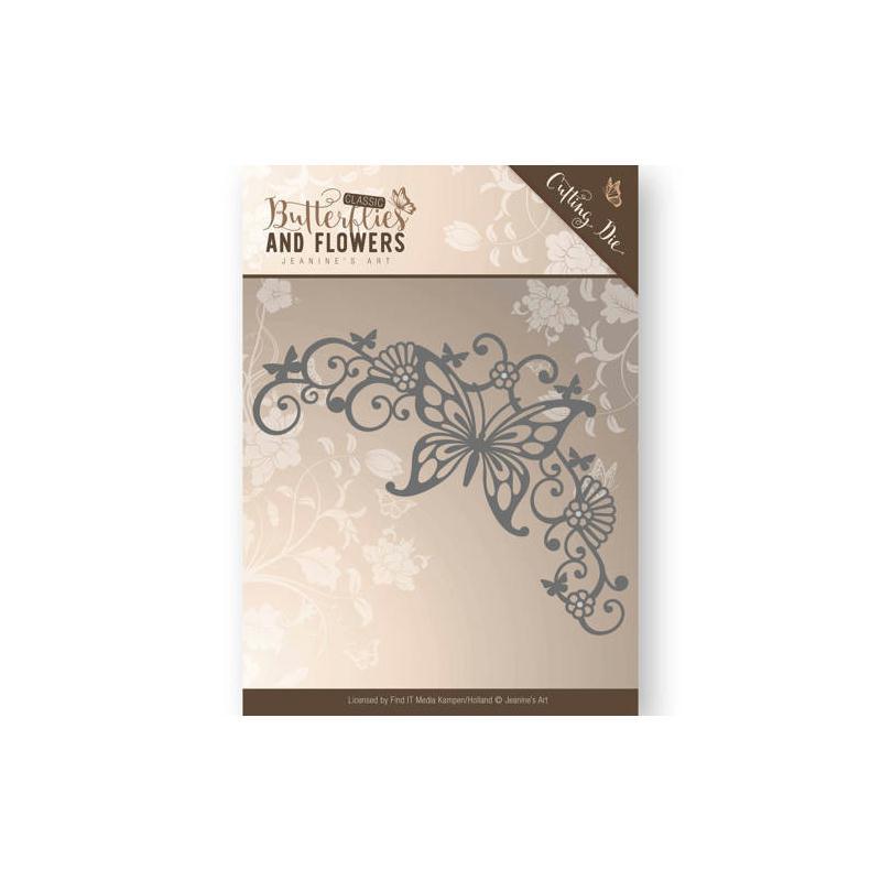 Die jeanine 39 s art butterblies and flowers coin - Tablette de coin en bois ...