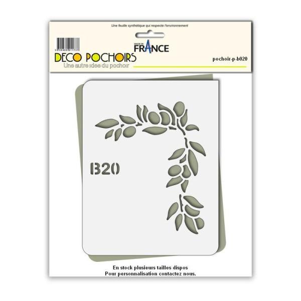Pochoir Olive de Provence - Photo n°1