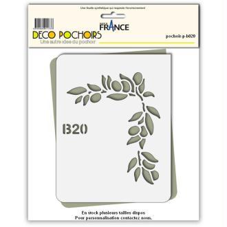 Pochoir Olive de Provence