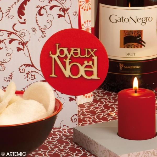 Mot Joyeux Noël en bois x3 - Photo n°2