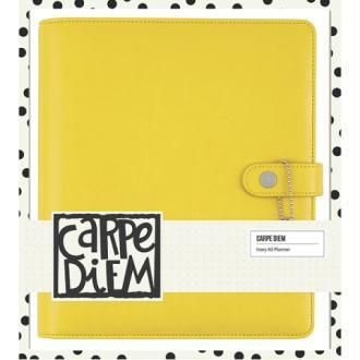 Planner Simple stories Carpe Diem A5 24x20x4cm Marigold jaune vide
