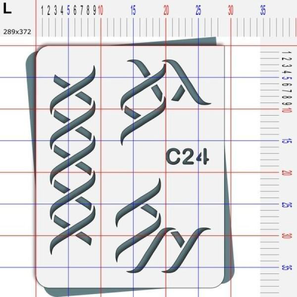 Pochoir ruban - 4 tailles disponibles - Photo n°5