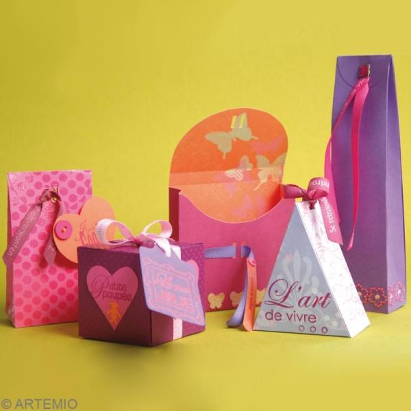 Gabarit Artecut Boîte cube - Photo n°2