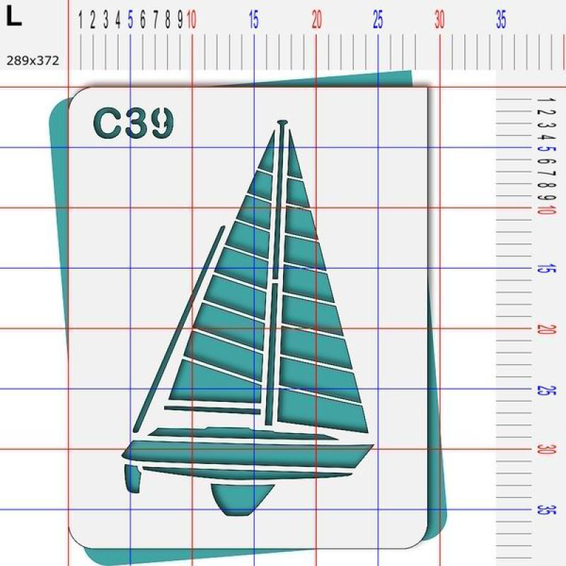 Pochoir mer- 4 tailles au choix - Photo n°5