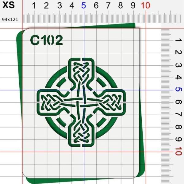 Pochoir celte - 4 tailles au choix - Photo n°2