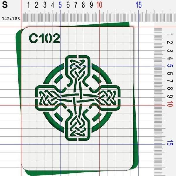 Pochoir celte - 4 tailles au choix - Photo n°3