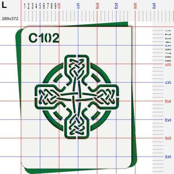 Pochoir celte - 4 tailles au choix - Photo n°5