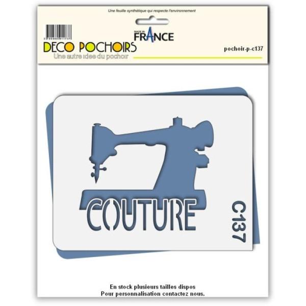 Pochoir couture - 4 tailles au choix - Photo n°1