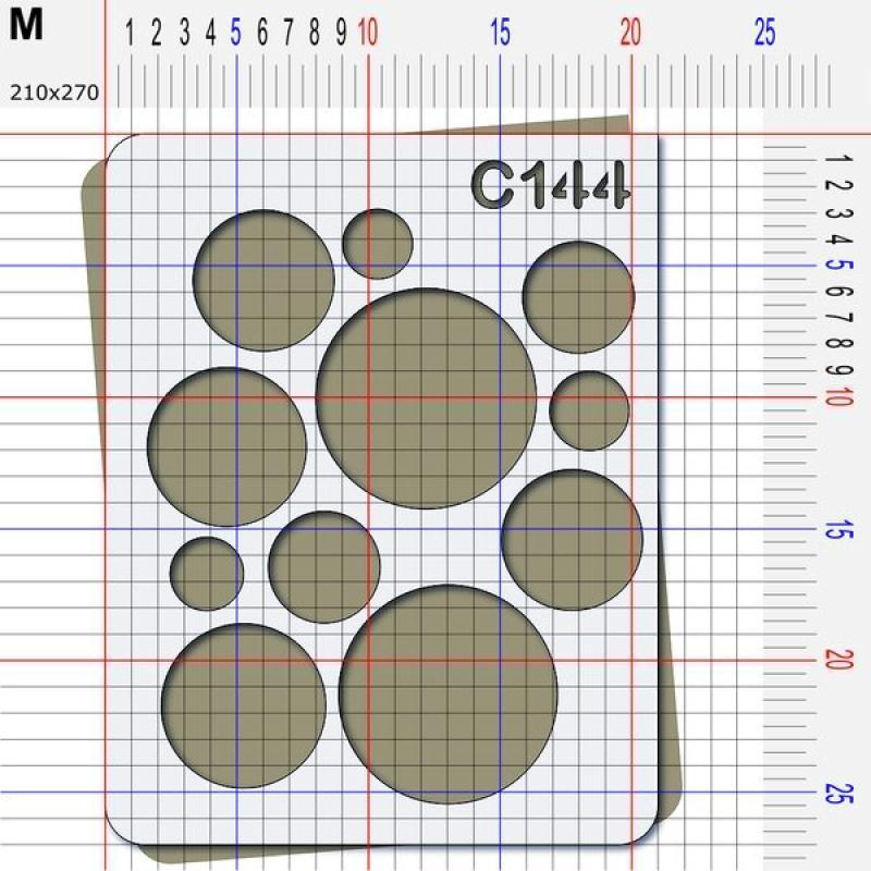 Pochoir rond - 4 tailles au choix - Photo n°4