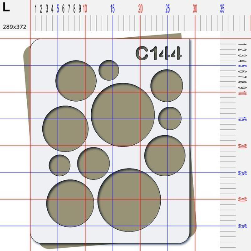 Pochoir rond - 4 tailles au choix - Photo n°5