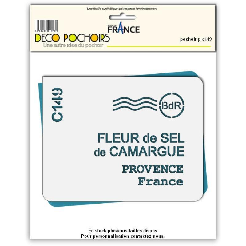 Pochoir Camargue - 2 tailles au choix - Photo n°1