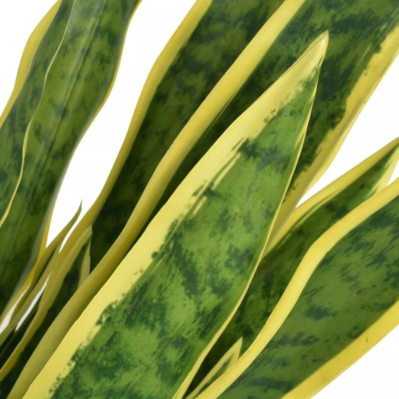 Vidaxl plante artificielle avec pot sansevi re 65 cm vert - Plante artificielle pour exterieur ...