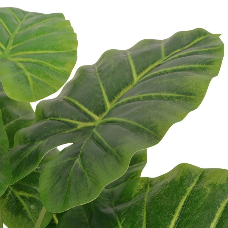 Vidaxl plante artificielle avec pot taro 70 cm vert - Plante artificielle pour exterieur ...