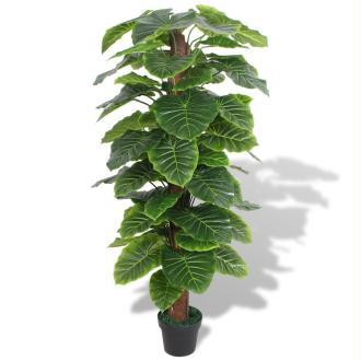 Vidaxl Plante Artificielle Avec Pot Taro 145 Cm Vert