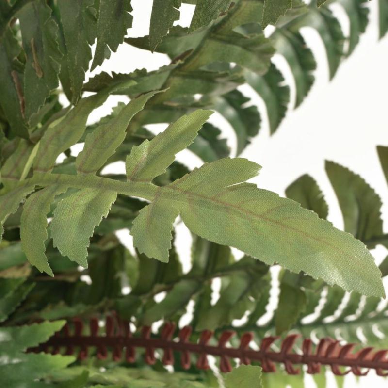 Vidaxl plante artificielle avec pot foug re 50 cm vert for Fougere interieur