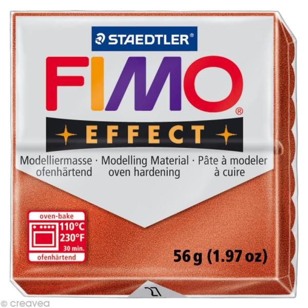 Pâte Fimo Effect Cuivre 27 - 56 gr - Photo n°1