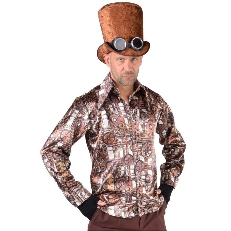 d guisement chemise steampunk homme luxe costumes homme creavea. Black Bedroom Furniture Sets. Home Design Ideas