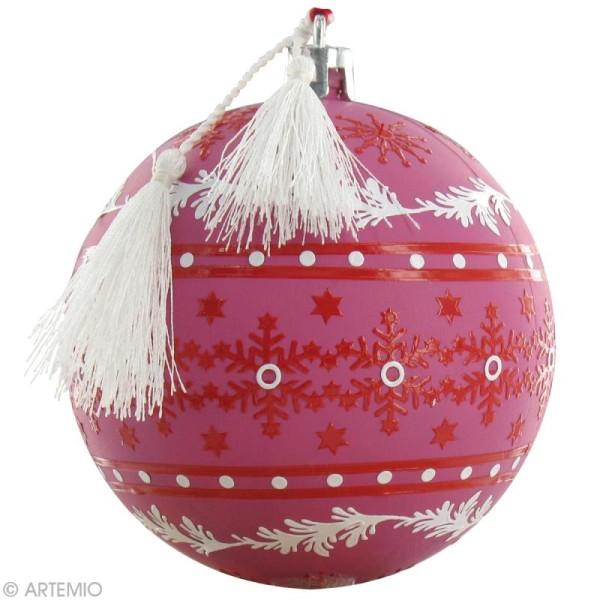 Boule de Noël à décorer x 39 - Photo n°5