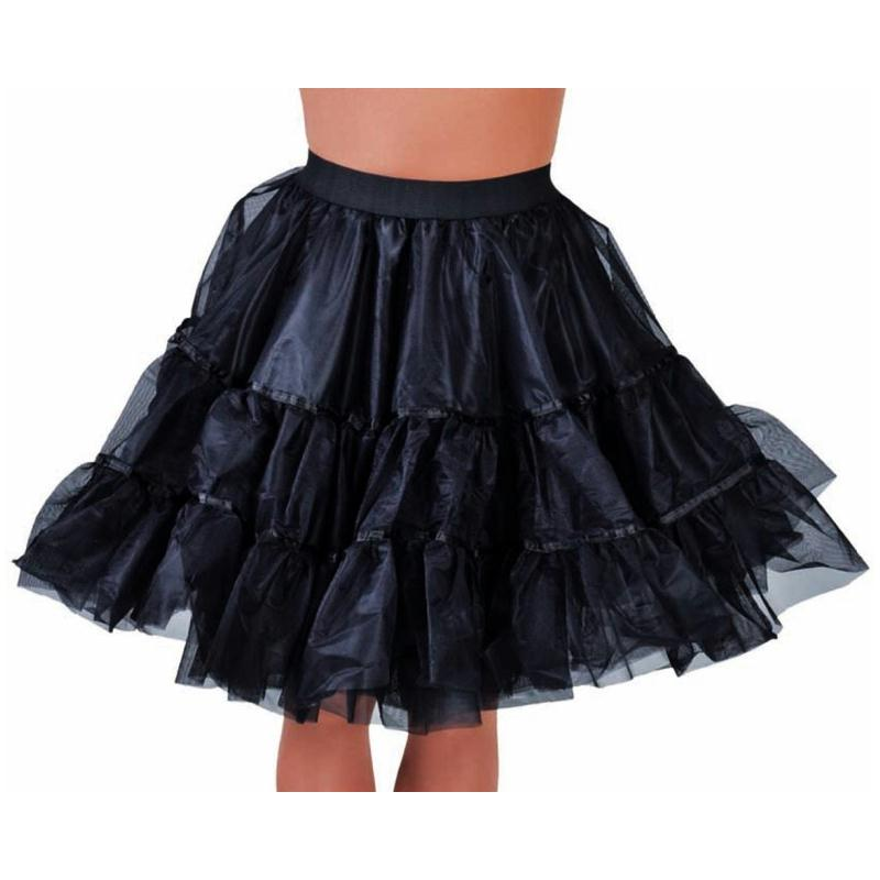 d guisement jupon noir en tulle volants femme luxe costumes femme creavea. Black Bedroom Furniture Sets. Home Design Ideas