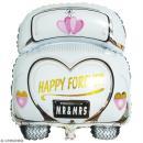 Ballon Aluminium - Voiture des mariés - 1 pce - Photo n°2