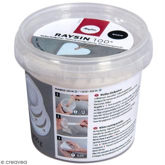 Poudre de moulage Raysin 100 Basic - Blanc - 400 g