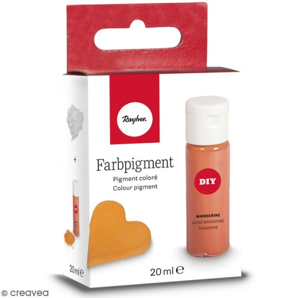 Colorant pour savon - Jaune mandarine - 10 ml - Photo n°2