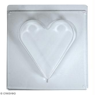 Moule pour béton créatif - Coeur - 18,5 x 20 cm