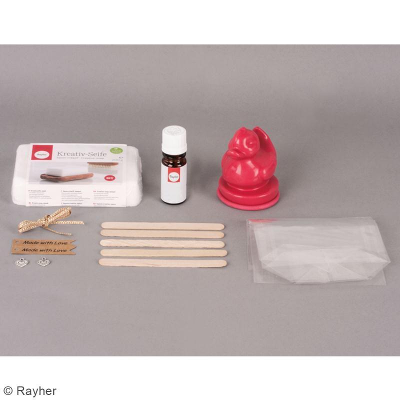 Kit DIY Savon à couler - Canard - Pour 2 savons - Photo n°4