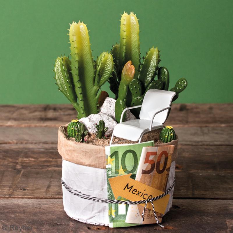 Plante artificielle cactus cierge vert plastique 15 for Plante grimpante artificielle exterieur