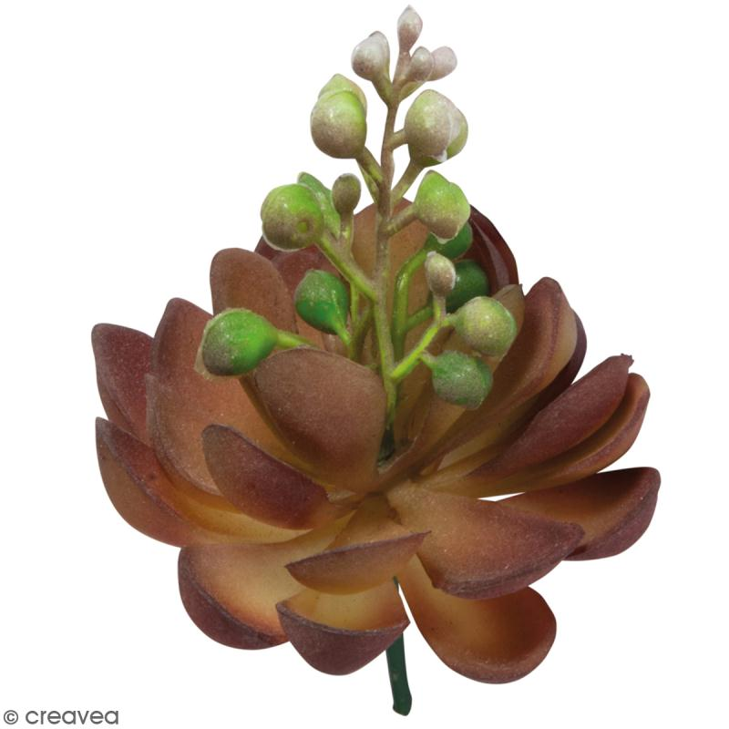 Plante artificielle rose de pierre fleurissante for Plante grimpante artificielle exterieur