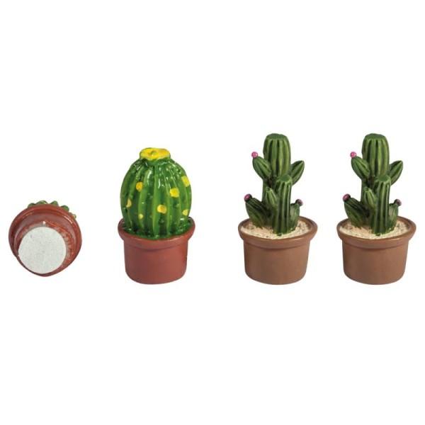 Formes en polyrésine - Cactus - 1,5 x 3 cm - 6 pcs - Photo n°3