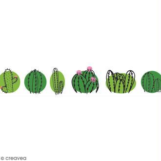 Washi tape Cactus family - 15 mm x 10 m