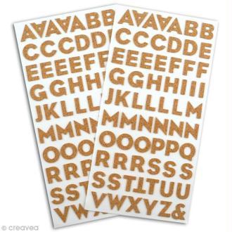 Alphabet en liège x 130