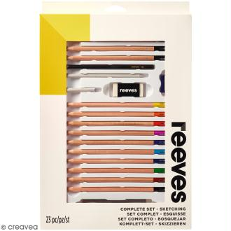 Set complet Dessin Reeves - 23 pcs