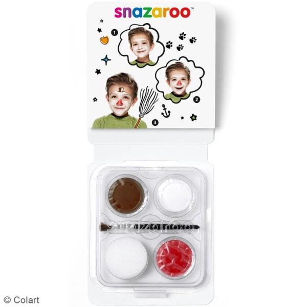 Mini Kit modèle maquillage enfant - Bonhomme de neige - Photo n°2