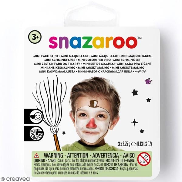 Mini kit mod le maquillage enfant bonhomme de neige kit maquillage enfant creavea - Modele bonhomme de neige ...