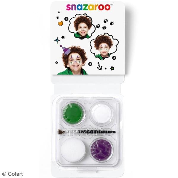 Mini Kit modèle maquillage enfant - Clown - Photo n°2
