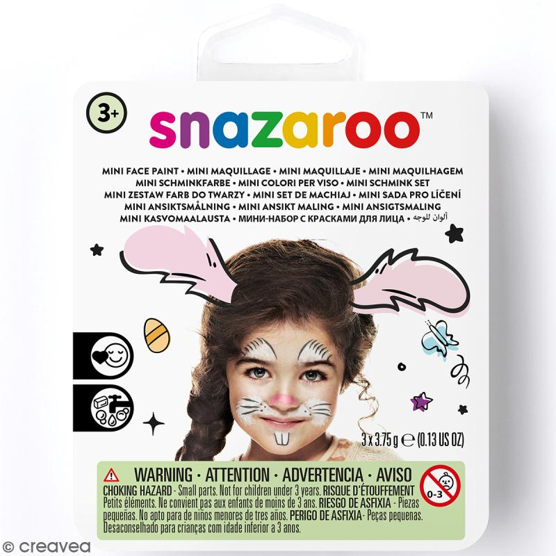 Mini Kit modèle maquillage enfant - Lapin - Kit maquillage enfant - Creavea