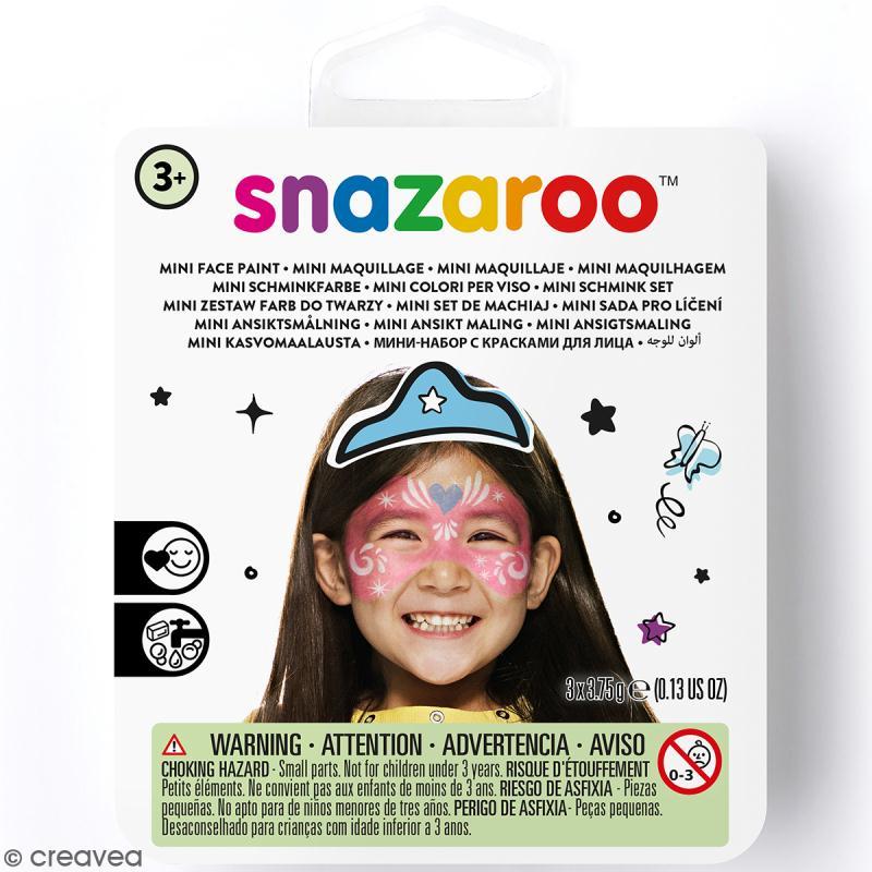 Mini kit mod le maquillage enfant masque de princesse kit maquillage enfant creavea - Modele maquillage princesse ...