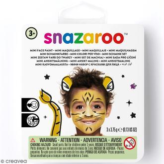 Mini Kit modèle maquillage enfant - Tigre