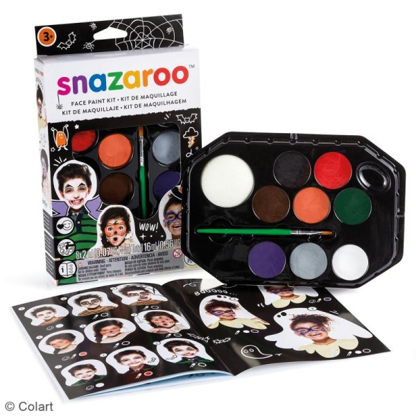 Palette maquillage Halloween Snazaroo - 11 pcs - Photo n°2