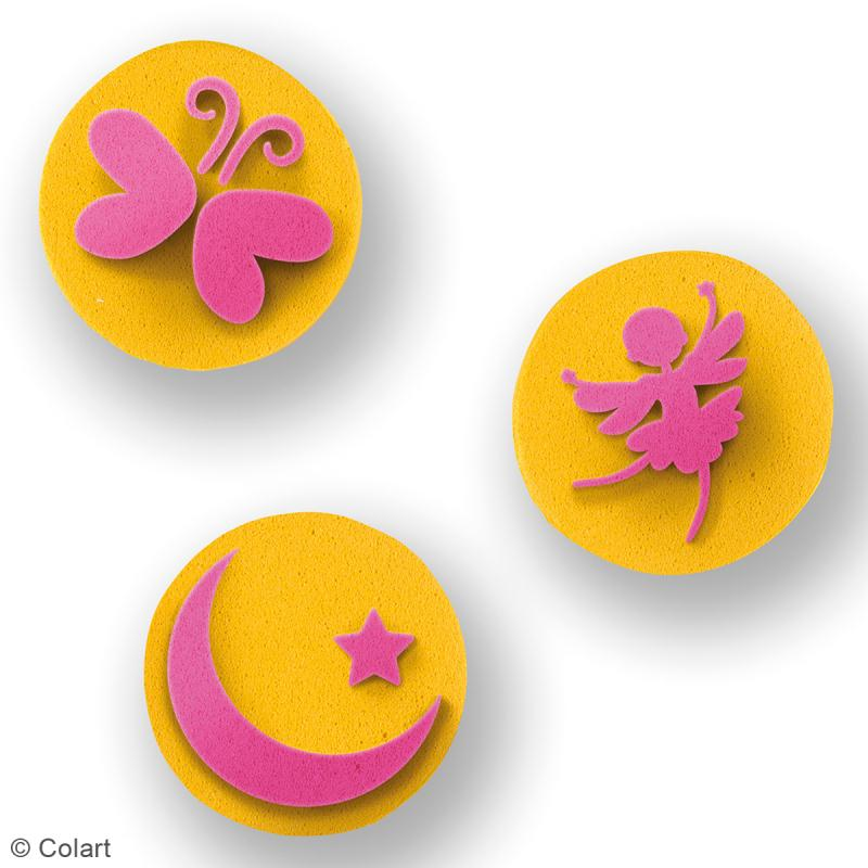 Mini Kit maquillage tampon - Princesse - 6 pcs - Photo n°2