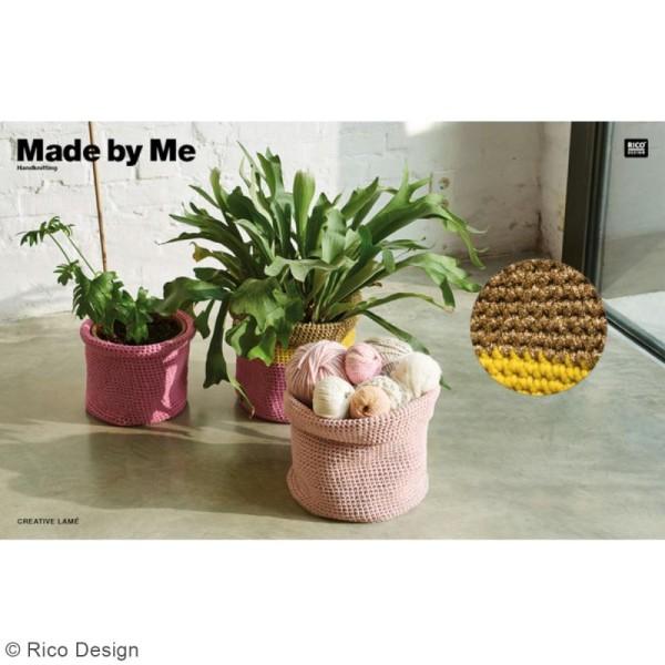 Laine Rico Design - Creative lamé - 25 gr - 62% polyester 38% polyamide - Photo n°4